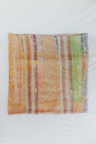 Vintage Kantha Pillow Case