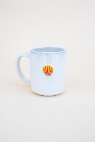 Sunrise Shell Mug - Orange / Red
