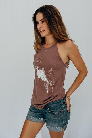 Sporty Mermaid Tank Top
