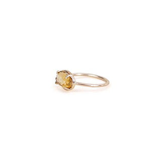 wings hawaii fine jewelry citrine stone 14 karat yellow gold ring