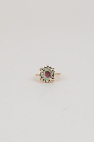 Tourmaline Slice Ring