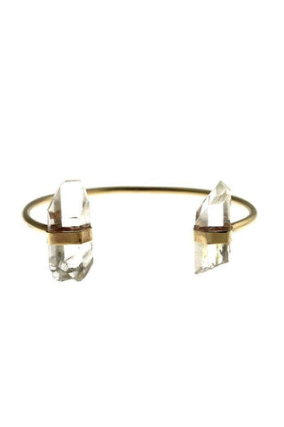 Quartz Horseshoe Cuff - Wings Hawai'i