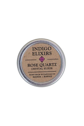 rose quartz crystal body balm organic essential oils skin care hawaii made