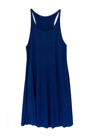 Navy Blue Ryanne Swing Dress