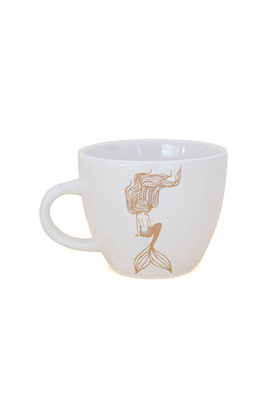 Sitting Mermaid Mug