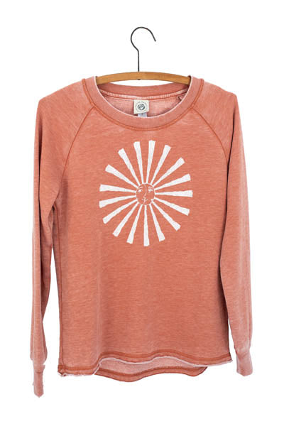 Sun + Moon French Terry Pullover