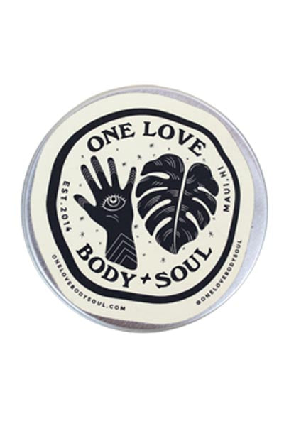 One Love Body + Soul Sunscreen