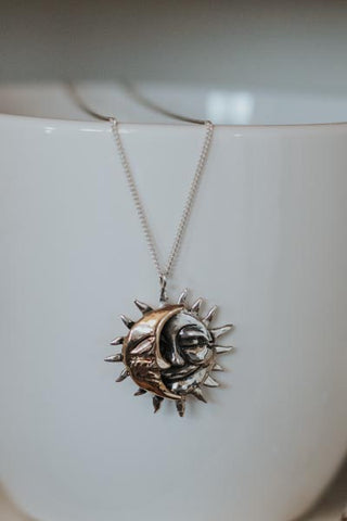 Sun + Moon Necklace