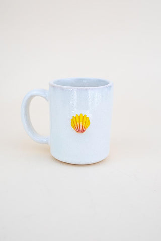 Sunrise Shell Mug - Pink / Yellow