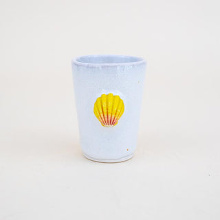 Sunrise Shell Tumbler - Yellow / Pink