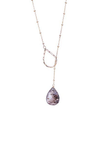 Lariat Necklace - Super Seven