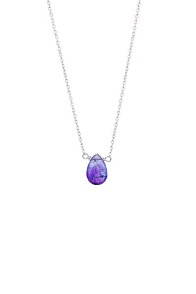Single Stone Necklace - Super Seven