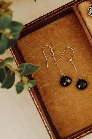 Drop Earrings - 14k - Tourmaline