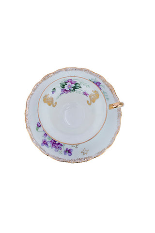 Seastar Mermaid Viola Teacup Set