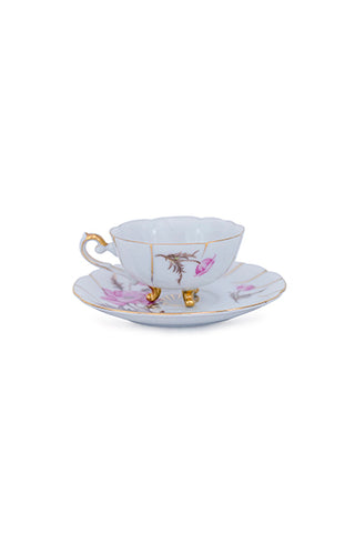 Sunrise Surfer Mermaid Teacup Set