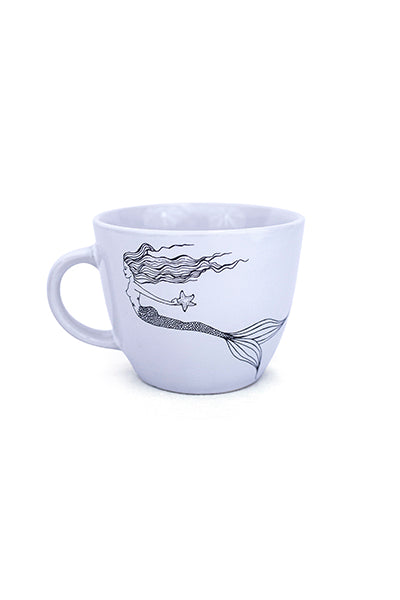 Seastar Mermaid Mug