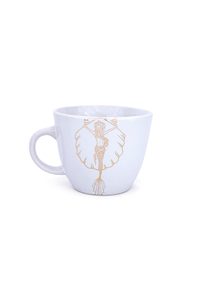 Sunrise Surfer Mermaid Mug