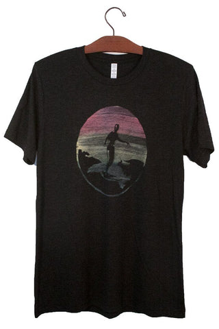 Paradise Now Surfer Men's Tee - Wings Hawai'i
