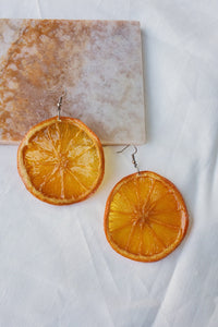 Citrus Earrings - Oranges
