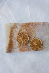 Citrus Earrings - Limes