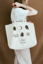 Load image into Gallery viewer, Luna Collective Large Tote Bag