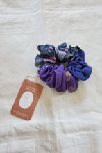 Load image into Gallery viewer, Silk Patchwork Scrunchie
