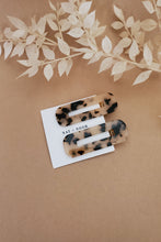 Load image into Gallery viewer, Tortoiseshell Hair Clip Set