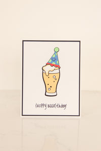 Hoppy Beerthday Card