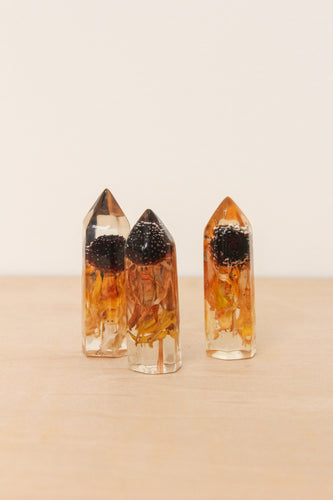 Small Preserved Sunflower Crystal