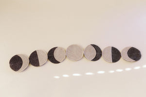 Moon Phase Garland - 3 Colours