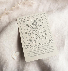 Self Love Affirmation Cards by Musings From The Moon