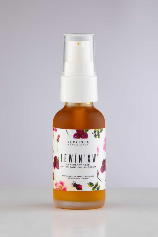 Tewín'xw Cranberry Rose Antioxidant Facial Serum