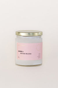 Amber + Bitter Orange Soy Candle