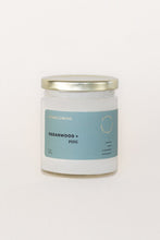 Load image into Gallery viewer, Cedarwood + Pine Soy Candle