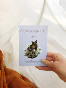 Considerate Cat Tarot Deck + Mini Guidebook