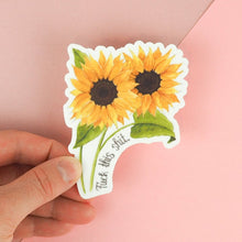 Load image into Gallery viewer, F**k This S**t Floral Sticker