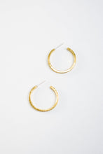 Load image into Gallery viewer, Mini Kye Hoops (Brass or Silver)