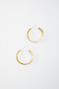 Mini Kye Hoops (Brass or Silver)