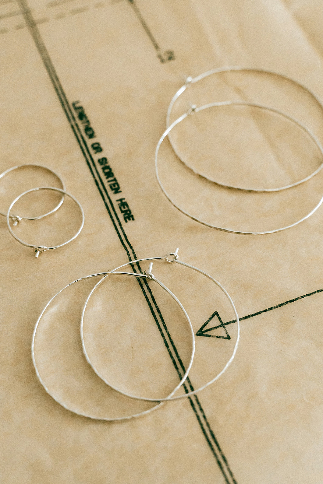 Silver Everyday Hoops - 3 Sizes