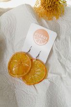 Load image into Gallery viewer, Citrus Earrings - Oranges