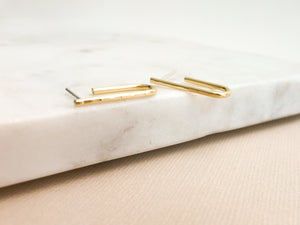 Mini Sabine Earrings (Brass or Silver)