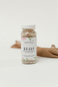 Kalkáy Wild Rose Yarrow Bath Salts