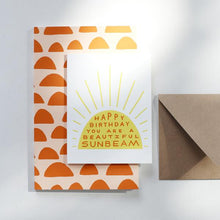 Load image into Gallery viewer, Birthday Sunbeam Card