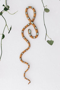Ceramic Snake Wall Hanging