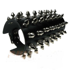 80's Metal - 7 Row Short Spike Arm Gauntlet