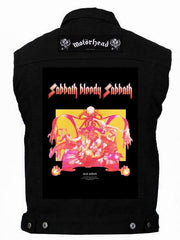 80's Metal 'Black Sabbath & Motorhead' Battlejacket