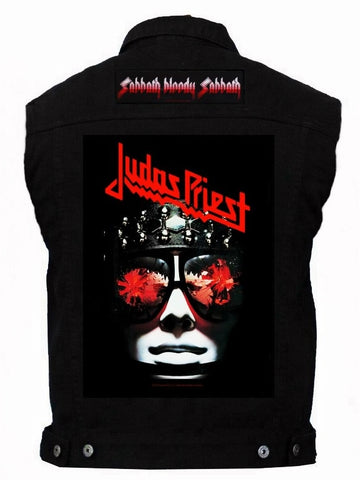 80's Metal 'Judas Priest & Black Sabbath' Battlejacket