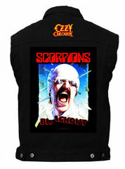 80's Metal 'Scorpions & Ozzy' Battlejacket