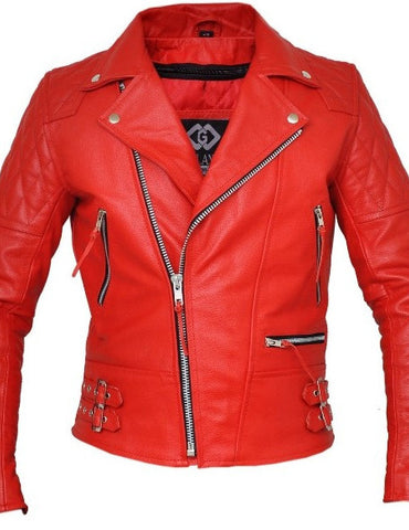 80's Metal 'Fever' Leather Jacket