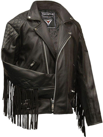 80's Metal 'Roadie Rockstar' Leather Jacket
